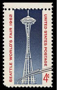 Seattle World's Fair stamp