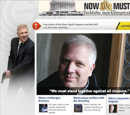 Glenn Beck fantasizes about shooting up federal agents coming to take away his gun