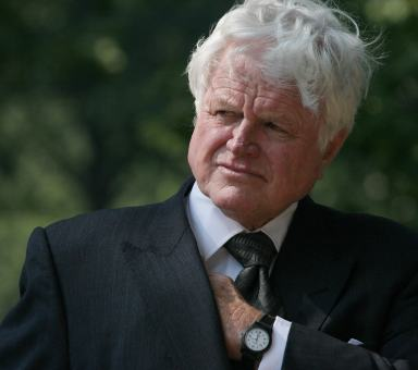 ted kennedy. Ted Kennedy go just yet.
